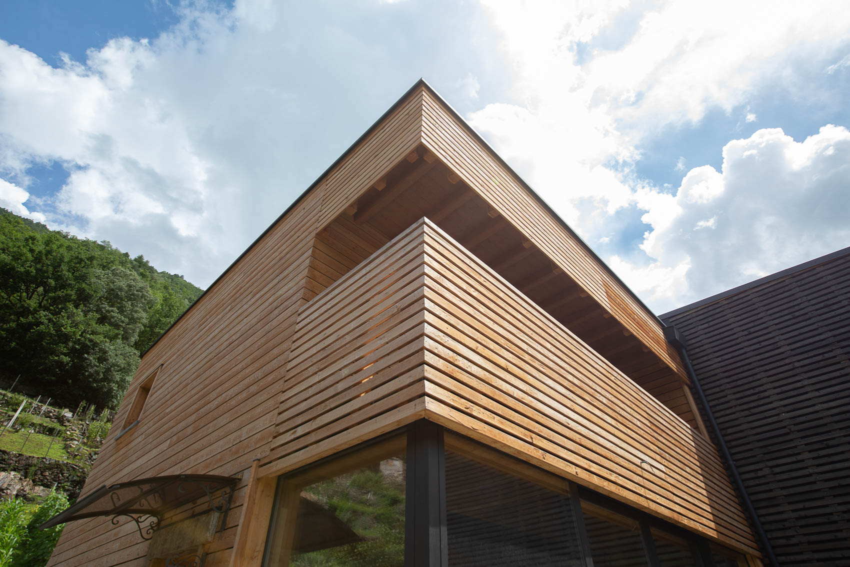 case in legno moderne